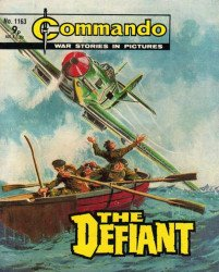 D.C. Thomson & Co.'s Commando: War Stories in Pictures Issue # 1163