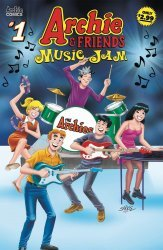 Archie Comics Group's Archie & Friends Music Jam Issue # 1