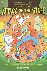Papercutz's Attack of the Stuff Hard Cover # 1