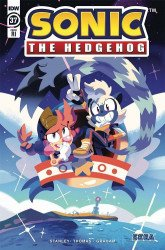 IDW Publishing's Sonic the Hedgehog Issue # 37ri