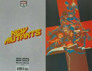 Marvel Comics's New Mutants Issue # 9b