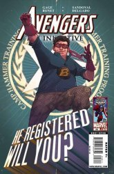 Marvel Comics's Avengers: The Initiative Issue # 28