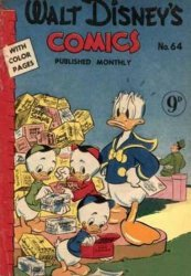 W.G.(Wogan)Publications's Walt Disney's Comics Issue # 64
