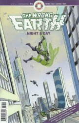 Ahoy Comics's Wrong Earth: Night and Day Issue # 4