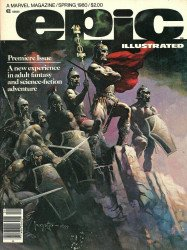 Epic Comics's Epic Illustrated Issue # 1