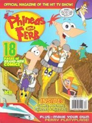 Disney Worldwide Publishing's Phineas and Ferb Issue # 5