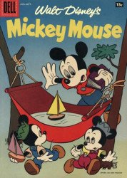 Dell Publishing Co.'s Mickey Mouse Issue # 55b