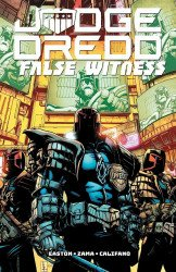 IDW Publishing's Judge Dredd: False Witness TPB # 1