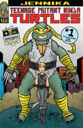 IDW Publishing's Teenage Mutant Ninja Turtles: Jennika Issue # 1game changer