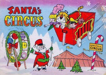 Promotional Publishing's Santa's Circus Issue nn