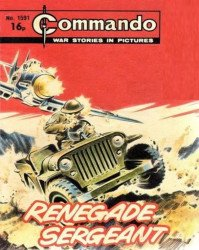 D.C. Thomson & Co.'s Commando: War Stories in Pictures Issue # 1591