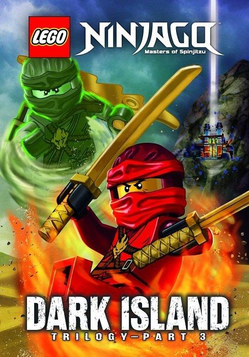 Lego Ninjago Dark Island Trilogy Hard Cover 3 Little
