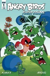 IDW Publishing's Angry Birds: Flight School Issue # 1sub