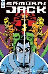 IDW Publishing's Samurai Jack: Quantum Jack Issue # 1