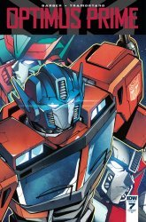 IDW Publishing's Optimus Prime Issue # 7ri