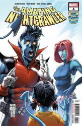 Marvel Comics's The Age of X-Man: The Amazing Nightcrawler Issue # 4
