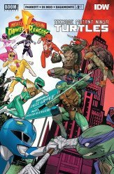 BOOM! Studios's Mighty Morphin Power Rangers/Teenage Mutant Ninja Turtles Issue # 2