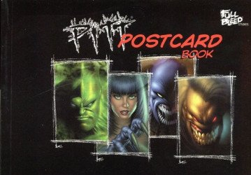 Full Bleed Studios's Pitt Postcard Book Soft Cover # 1