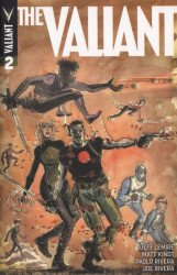 Valiant Entertainment's The Valiant Issue # 2c