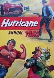 Fleetway (AP/IPC)'s Hurricane Annual Hard Cover # 1965