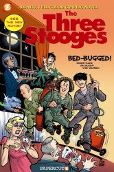 Papercutz's Three Stooges Hard Cover # 1
