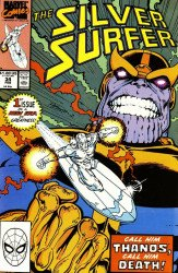 Marvel Comics's Silver Surfer Issue # 34
