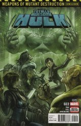 Marvel Comics's The Totally Awesome Hulk Issue # 22 - 2nd print