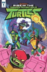 IDW Publishing's Rise of the Teenage Mutant Ninja Turtles Issue # 1b
