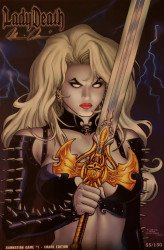 Coffin Comics's Lady Death: Damnation Game Issue # 1m