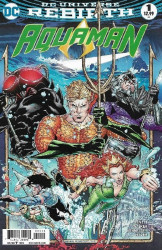 DC Comics's Aquaman Issue # 1c