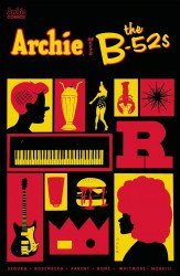 Archie Comics Group's Archie Meets the B-52s Issue # 1c