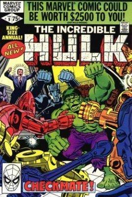 COMIC INCREDIBLE HULK ANNUAL   # 18 1992-9.6