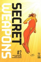 Valiant Entertainment's Secret Weapons Issue # 2e (a)