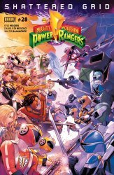 BOOM! Studios's Mighty Morphin Power Rangers Issue # 28