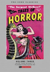 PS Artbooks's Pre-Code Classics: Tales of Horror Hard Cover # 3