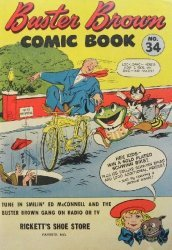 Buster Brown Shoes's Buster Brown Comics Issue # 34ricketts