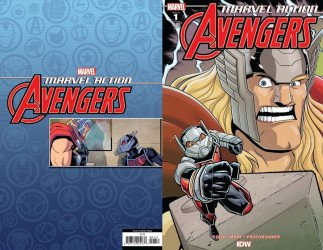 IDW Publishing's Marvel Action: Avengers Issue # 1