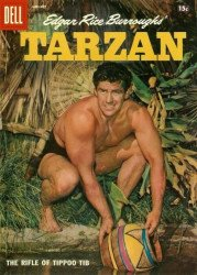 Dell Publishing Co.'s Tarzan Issue # 100b