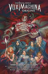 Dark Horse Comics's Critical Role: Vox Machina - Origins Series II Hard Cover # 1