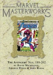 Marvel Comics's Marvel Masterworks: The Avengers Hard Cover # 19b