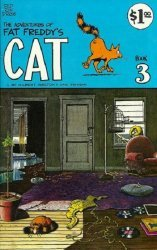 Rip Off Press's Adventures of Fat Freddy's Cat Issue # 3b