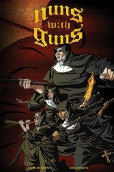 Viper Comics's Nuns Without Guns  Soft Cover # 1