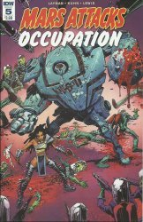 IDW Publishing's Mars Attacks: Occupation Issue # 5