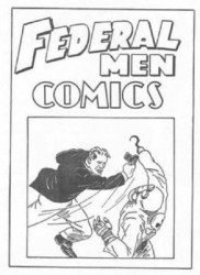 DC Comics's Federal Men Comics Issue Ashcan