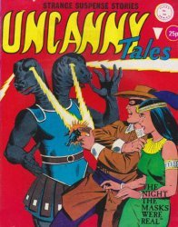 Alan Class & Company's Uncanny Tales Issue # 154