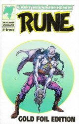 Malibu Comics's Wrath / Rune: Ashcan  Issue # 1b