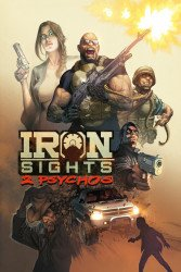 Splatto Comics's Iron Sights: 2 Psychos TPB # 1