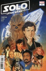 Marvel Comics's Solo a Star Wars Story Adaptation Issue # 1