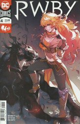 DC Comics's RWBY Issue # 4