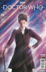 Titan Comics's Doctor Who: Missy Issue # 2b